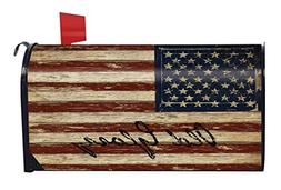 Old Glory Patriotic Magnetic Mailbox Cover American Flag Rus