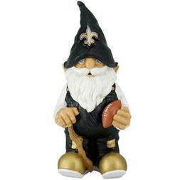 """New Orleans Saints Garden Gnome 11"""" Male"""