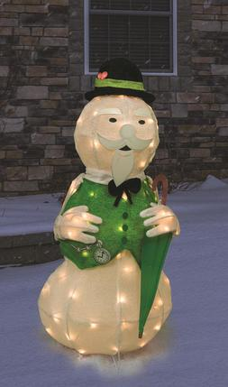 """Outdoor Christmas Decorations Rudolph's 36"""" Sam the Snowman"""