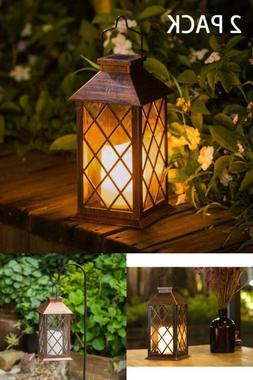Outdoor Solar Lantern Hanging Light Led Garden LED Lamp Yard