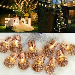 Outdoor String Lights Patio Yard Garden Home Wedding Decor 1
