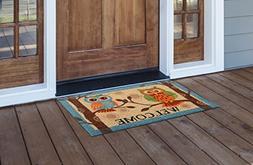 MILLIARD Owl Printed Coir Outdoor Entrance 'WELCOME' Doormat