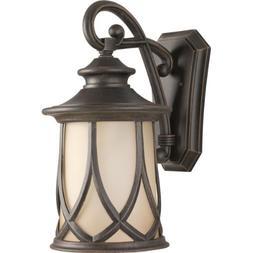 Progress P5989-122 1-Lt. 10.5 Wall Lantern in Aged Copper fi