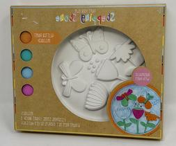 Paint Your Own CERAMIC STEPPING STONE Kit Great For Easter B