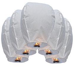 E-joy Paper Eco Friendly Sky Flying Candle Wishing Lanterns