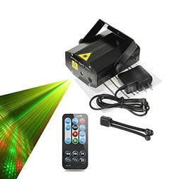 Party Lights,Sumger RG Mini Light Show Stage Laser Lights fo
