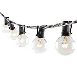 Patio Lights G40 Globe Party String Lights Outdoor Lighting