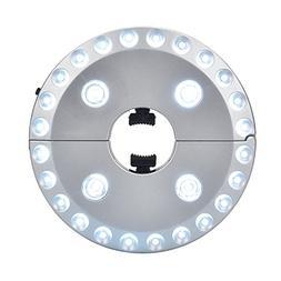 Patio Umbrella Light, eLander™ 3 Level Dimming 28 LEDs Out
