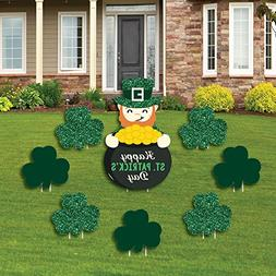 St. Patrick's Day - Yard Sign & Outdoor Lawn Decorations - S