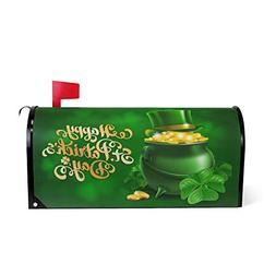 WOOR St Patricks Day Magnetic Mailbox Cover MailWraps Garden