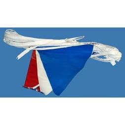 US Flag Store Patriotic Decorating Flag Pennants, 100-Feet