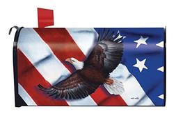 Patriotic Eagle Magnetic Mailbox Cover 4th of July Holiday B