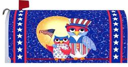 Patriotic Owls - Decorative Maibox Makeover - Magnetic