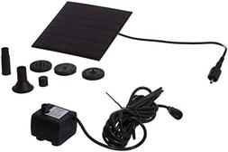 Patuoxun® Power Panel Kit Solar Water Pump Fountain Pool Ga