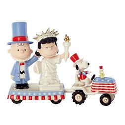 Lenox Peanuts 4th Of July Parade Figurines Independence Day