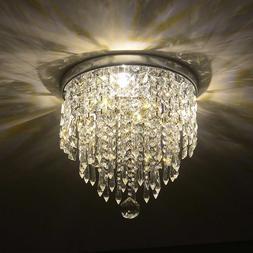 PENDANT CEILING LAMP Crystal Ball Fixture Light Chandelier F