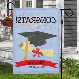 Personalized Graduation Flag Graduation Party Banner Garden