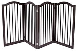 Internet's Best Pet Gate with Arched Top | 4 Panel | 36 Inch