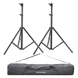 "Neewer 2 Pieces 75""/6 Feet/190CM Photography Light Stands wi"