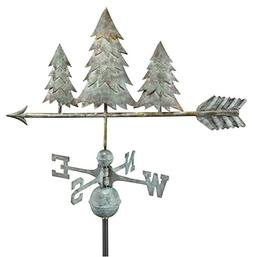 Good Directions Pine Trees Weathervane - Blue Verde