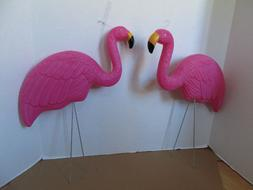 Pink Flamingo Party Decoration Yard Ornaments  34""