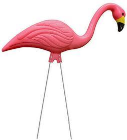 Pink Flamingo Stilt Garden Animal Critter Statue Outdoor Hom