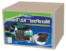 AquaScape Pond Kit w/waterfall/pump-4'x6' -small water garde