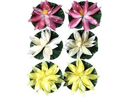 Pond Plants Decor Floating Water Lily Pads For Ponds Flower