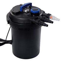 Goplus Pressure Bio Filter 10000L w/ 13W UV Sterilizer Light