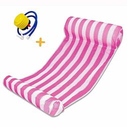HANTAJANSS Pool Floats Hammock Inflatable Water Hammock Loun