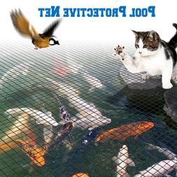 BenefitUSA Pool Netting Pond Protective Floating Net Tub Mes