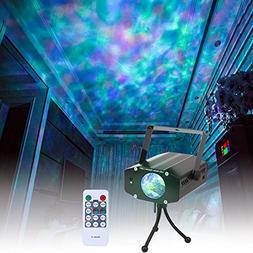Wishwill Portable Water Wave RGB LED Stage Lighting Ocean Wa