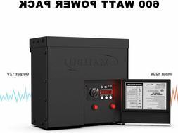 Malibu 600 Watt Power Pack with Sensor Photo Cell and Weathe
