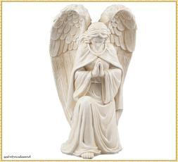 Praying Garden Angel Memorial Statue Kneeling Large Wings Ya
