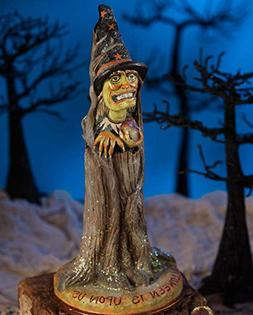 Bethany Lowe PS4877 Halloween Witch Coming Out of Tree New 2