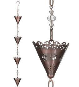 Regal Art & Gift 4 Inches x 4 Inches x 104 Inches Rain Chain