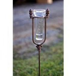 Kalalou Rain Gauge Glass Replacement for Cast Iron Acorn Rai