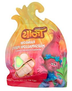 Dreamworks Trolls Rainbow Marshmallow Puffs Candy, 2.1 oz