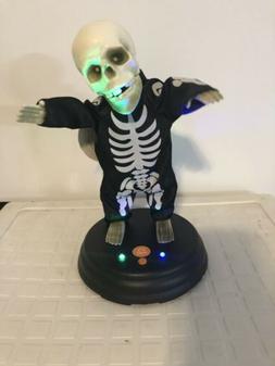 Rare Gemmy Groovin Dancing Ghoulie Skeleton Hey Baby Hallowe