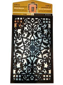 Nuvo Iron Rectangular Decorative Insert For Fencing, Gates,