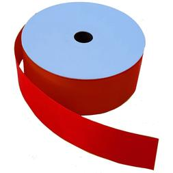 """Red Roll of Ribbon - 2"""" Wide x 50 Yards Christmas Memorial D"""