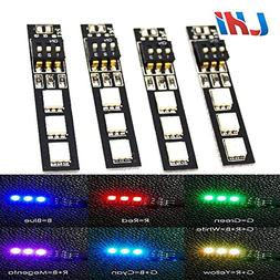 LHI 7 Colors RGB 5050 LED Strip Night Light 12V with DIP Swi