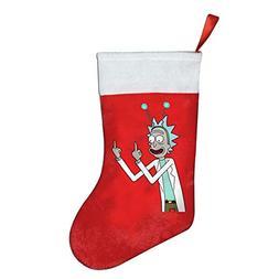 Benntoyo Ri-ck and Mor-ty Finger Christmas Stockings Kids Ch