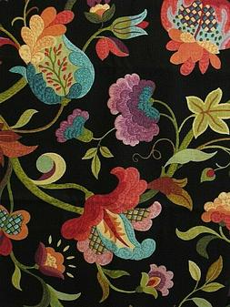 Richloom Platinum -Floral Home Decor Cotton Fabric * By The