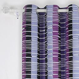 Deconovo Room Darkening Curtains Grommet Curtains 95 Strip C