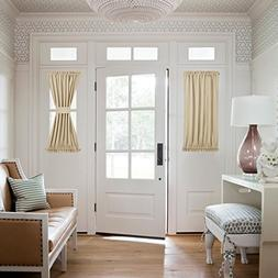 NICETOWN Side Lights Front Door Curtain - Entry Way Decor Ro