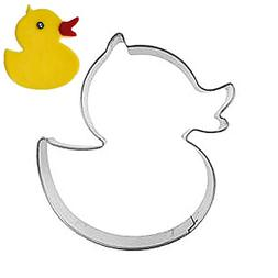 Efivs Arts Rubber Ducky Cookie and Fondant Cutter Stainless