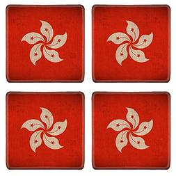 Luxlady Natural Rubber Square Coasters IMAGE ID 31451513 Hon