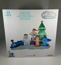Rudolph Island of Misfit Toys Christmas 9.5' Airblown Inflat