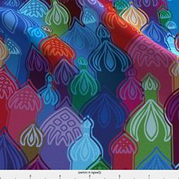 Spoonflower Russia Fabric Stbasile-Night by Cassiopee Printe